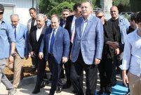 Cumhurbaşkanı Rize-Artvin havalimanı inşaatını inceledi