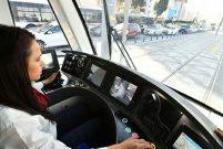 Konak Tramvayı'ndaki Meles Köprüsü tamamlanmak üzere