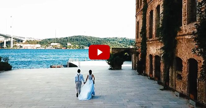 Ayşenur ve Yiğitcan… Wedding movie…