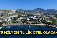 Deniz GYO ve Ataman Turizm Gümbet'teki Rexene Otel'i yeniliyor