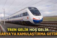 Ankara İstanbul YHT için Sakarya'da 238 parsel kamulaştırılacak