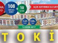 TOKİ İstanbul Kayabaşı'nda 108 tripleks ile 10 dükkan satıyor