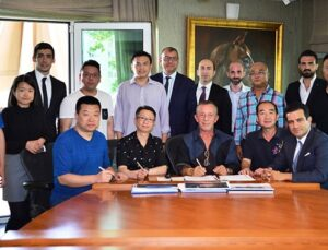 Ağaoğlu, Hong Konglu ve Çinlilerle Bodrum'da proje yapacak