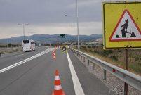 Anadolu Otoyolu bakım çalışması nedeniyle trafiğe kapatıldı