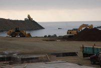Rize-Artvin Havalimanı'nda deniz dolgusu başladı