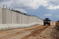 Suriye sınırındaki duvar ay sonunda bitiyor