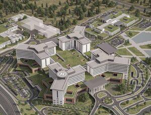 21 şehir hastanesi için bu yıl harekete geçilecek