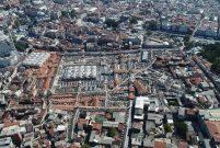 Kapalıçarşı'da restorasyon çalışmaları havadan görüntülendi