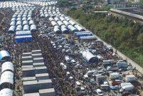İstanbullular kurban kesim alanlarına akın etti