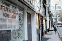 Osmanbey'de her iki dükkandan biri kiralık