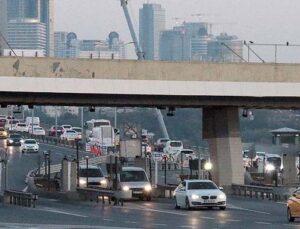 Otoyolda bayram trafiği