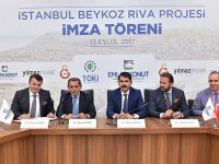 Emlak Konut'un 3,8 milyar TL'lik Riva arsasında imzalar atıldı