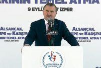 İzmir Alsancak, Göztepe ve Karşıyaka statlarının temeli atıldı