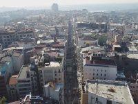 İstiklal Caddesi'ndeki çalışmalar havadan görüntülendi