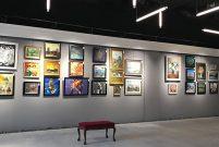 Konut projesi içinde yer alan ilk sanat galerisi İncek Loft'ta