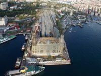 İstanbul banliyö hatlarındaki çalışmalar havadan görüntülendi