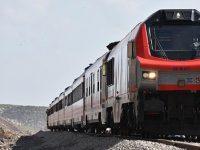 Bakü-Tiflis-Kars Demiryolu'nda Mersin'den ilk tren yola çıktı