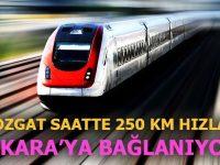 Yozgat Kayseri YHT Hattı'na 568 milyon TL takviye!