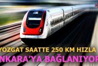 Yerköy – Şefaatli – Kayseri Demiryolu'na 2 milyar 139 milyon TL!