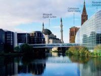 Avrupa'nın en büyük camisi, hangardan külliyeye dönüşüyor