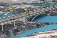 Devlet Bahçeli Köprüsü'nden günde 60 bin aracın geçecek