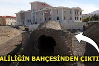 Erzurum'daki tarihi Harput Kapı gün yüzüne çıkarıldı