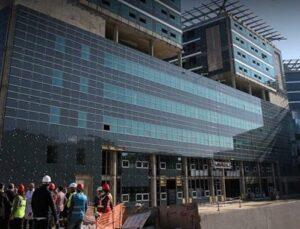 Göztepe Eğitim ve Araştırma Hastanesi'nin %60'ı tamamlandı