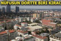 Türkiye'de her 10 kişiden 6'sı kendi evinde oturuyor