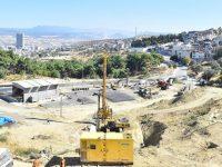 İzmir'e 183 milyon liralık dev proje için ilk kazma vuruldu
