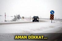 İçişleri Bakanlığı'ndan kışın yola çıkacaklara genelgeli uyarı