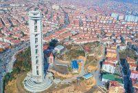 Keçiörenliler 'Cumhuriyet Kulesi'nin yıkılmasına izin vermedi