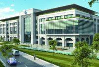 Bağcılar belediye binası 4 bin metrekare arazide yükseliyor
