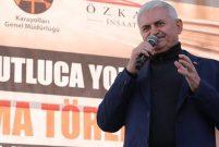 Başbakan Yıldırım: Karadeniz Güneydoğu'ya bağlanıyor