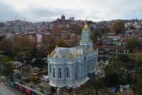 Demir Kilise'nin 7 yıldır süren restorasyonu bitiyor