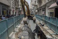 İstiklal Caddesi'ndeki çalışmalar 31 Aralık'ta bitecek