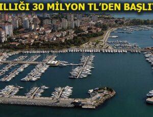 Fenerbahçe-Kalamış Yat Limanı yeniden ihaleye çıkıyor