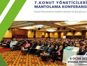 Konut Yöneticileri Mantolama Konferansı 6 Ocak'ta yapılacak