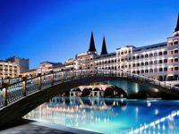 Mardan Palace Hotel'in borcundan dolayı elektrikleri kesildi