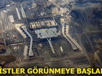 İstanbul Yeni Havalimanı'nın son hali uçaktan görüntülendi