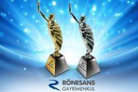 Rönesans Gayrimenkul'e Marcom Awards'tan 9 ödül