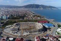 Ordu'daki yeni stadın yüzde 80'i tamamlandı
