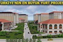 Sivas'a 10 bin kişilik yurt geliyor