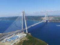 Yavuz Sultan Selim Köprüsü ve Kuzey Çevre Otoyolu Transist'te