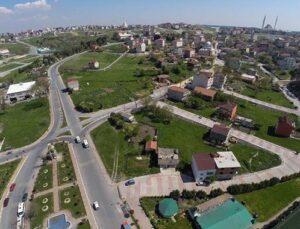 Arnavutköy'de Çilingir ile Terkos arasına imar yolu yapılıyor