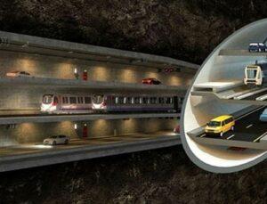 Üç Katlı Büyük İstanbul Tüneli'nde ihale 2018'de yapılacak