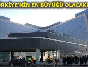 Bilkent Şehir Hastanesi'nde sona gelindi