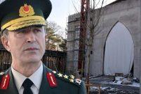 Genelkurmay Başkanı Akar memleketi Kayseri'ye cami yaptırdı
