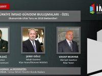 Türkiye İMSAD, 14 Aralık'ta Gündem Buluşmaları düzenliyor