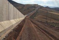 TOKİ, İran sınırındaki duvarı tamamladı