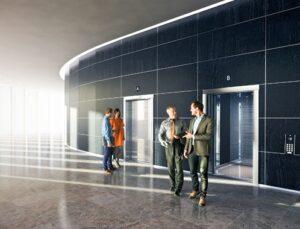KONE yüksek binalara özel çözümler üretiyor